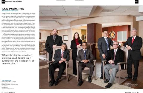 Texas Back Institute Best Doctors