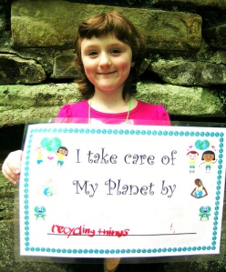 earth day 3 recycling